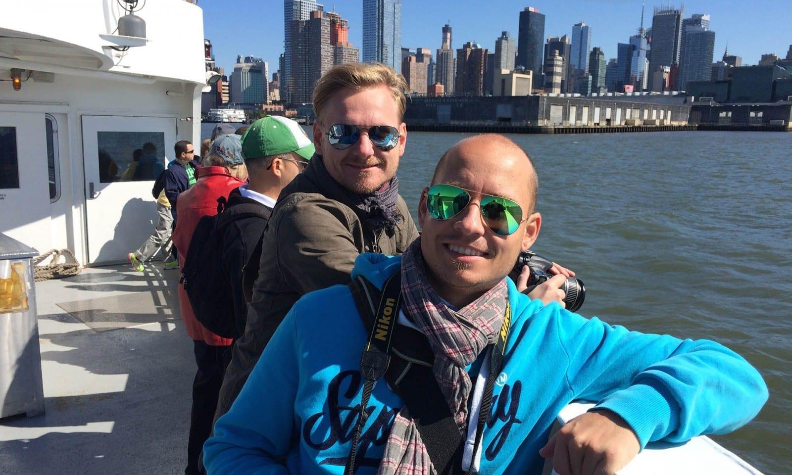 passeio de barco em NY