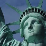A Estátua da Liberdade em Nova York