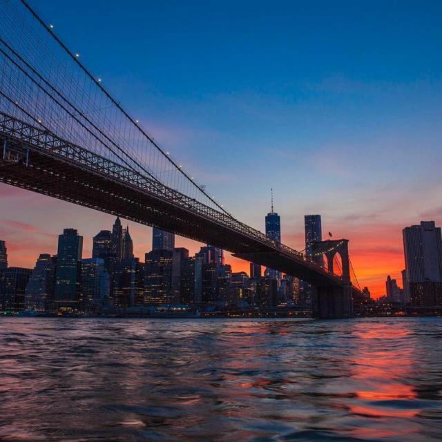 Passeio de barco em NY no fim de tarde