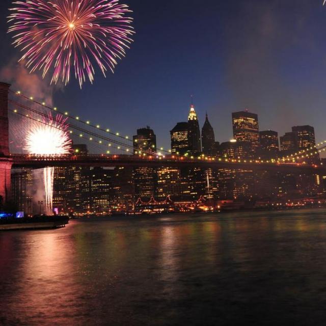 Passeio de barco no Réveillon em Nova York