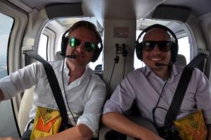 passeio de helicoptero em Nova York