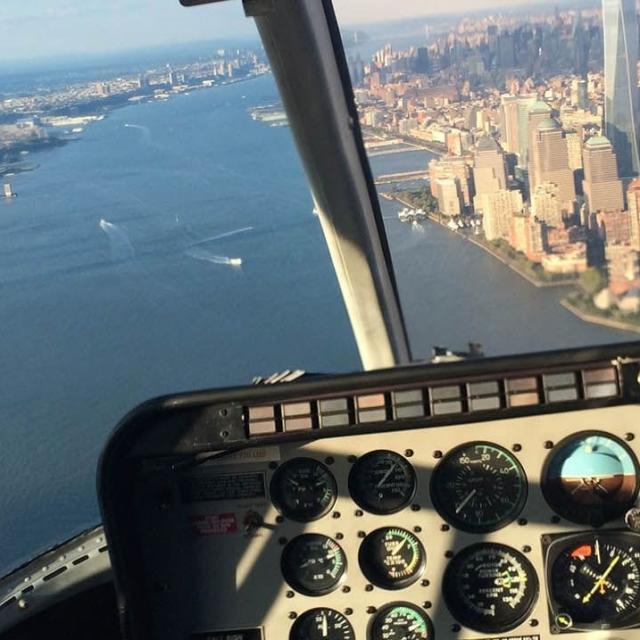 Como é um passeio de helicóptero em New York