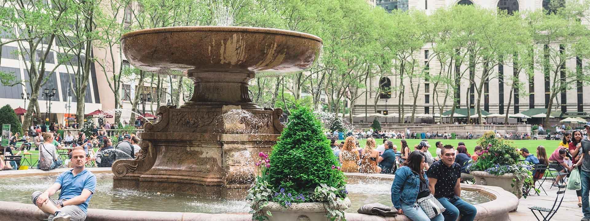 Enviar para seu plano de viagem no MyNY Página Inicial › Parques › Bryant  Park 148ec455bfc