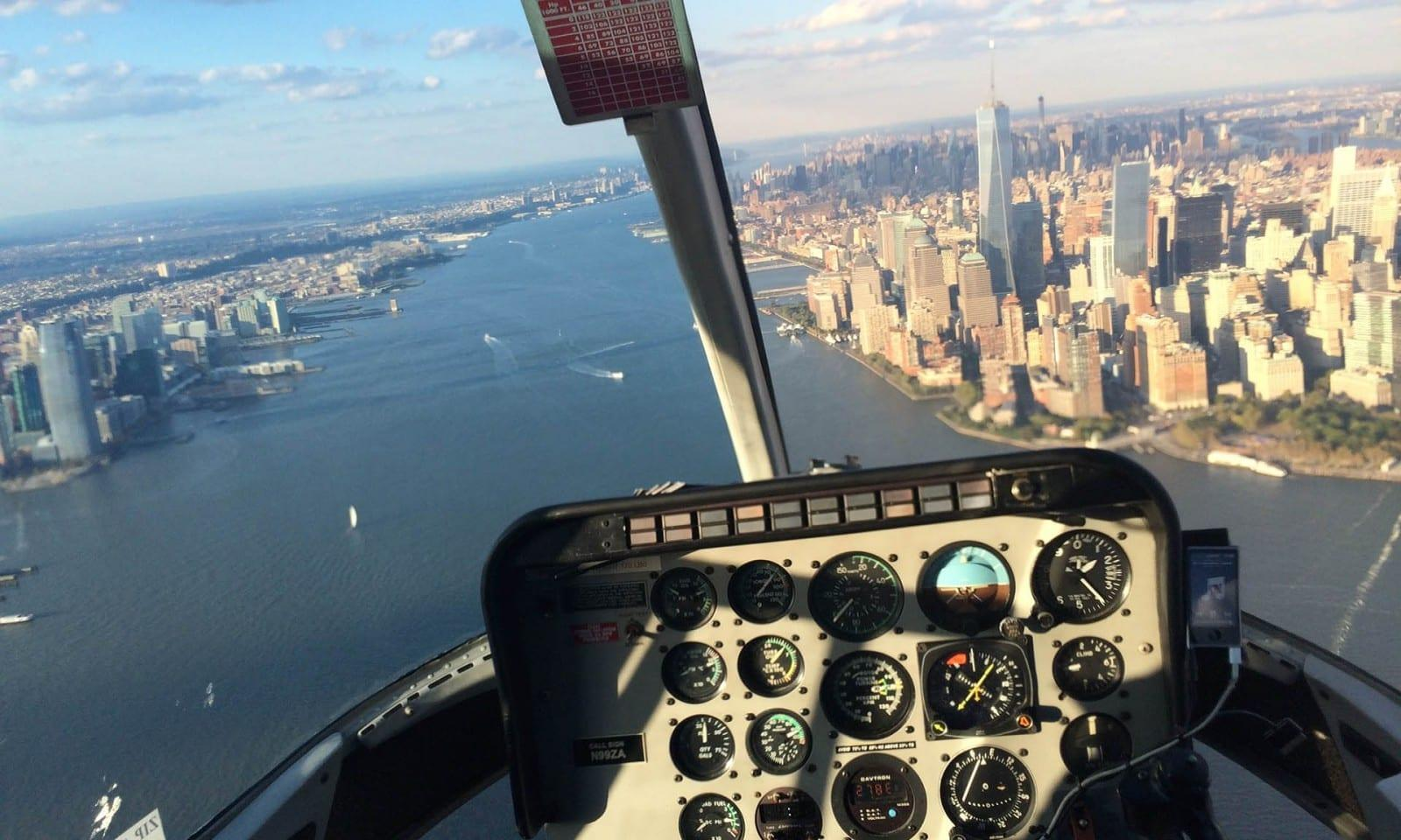 Passeio de heliPasseio de helicóptero em Nova York