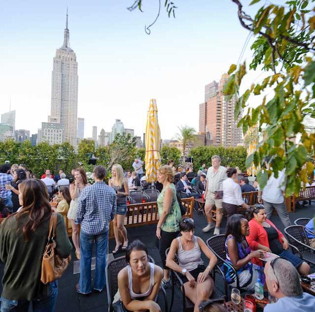 Top 10 melhores Rooftops de Nova York