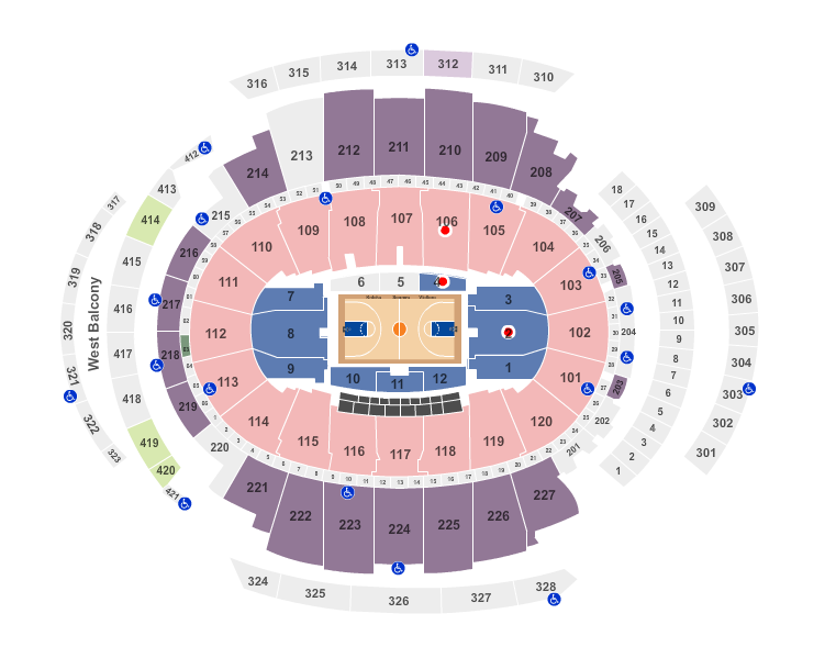 New York Knicks In New YOrk Stadium