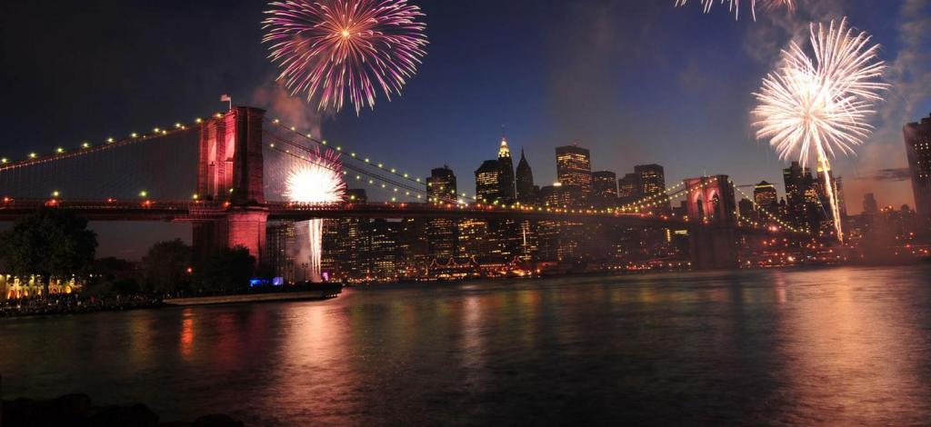 Nova York em dezembro virada do ano em Nova york