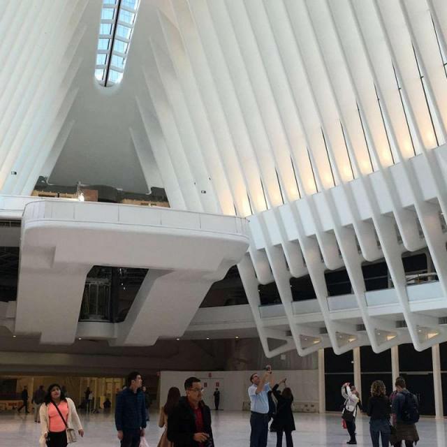 A Estação Oculus in New York