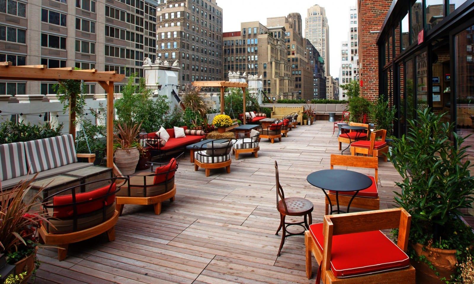 Refinery rooftop ny uma tima op o em nova york for Bar americano nyc