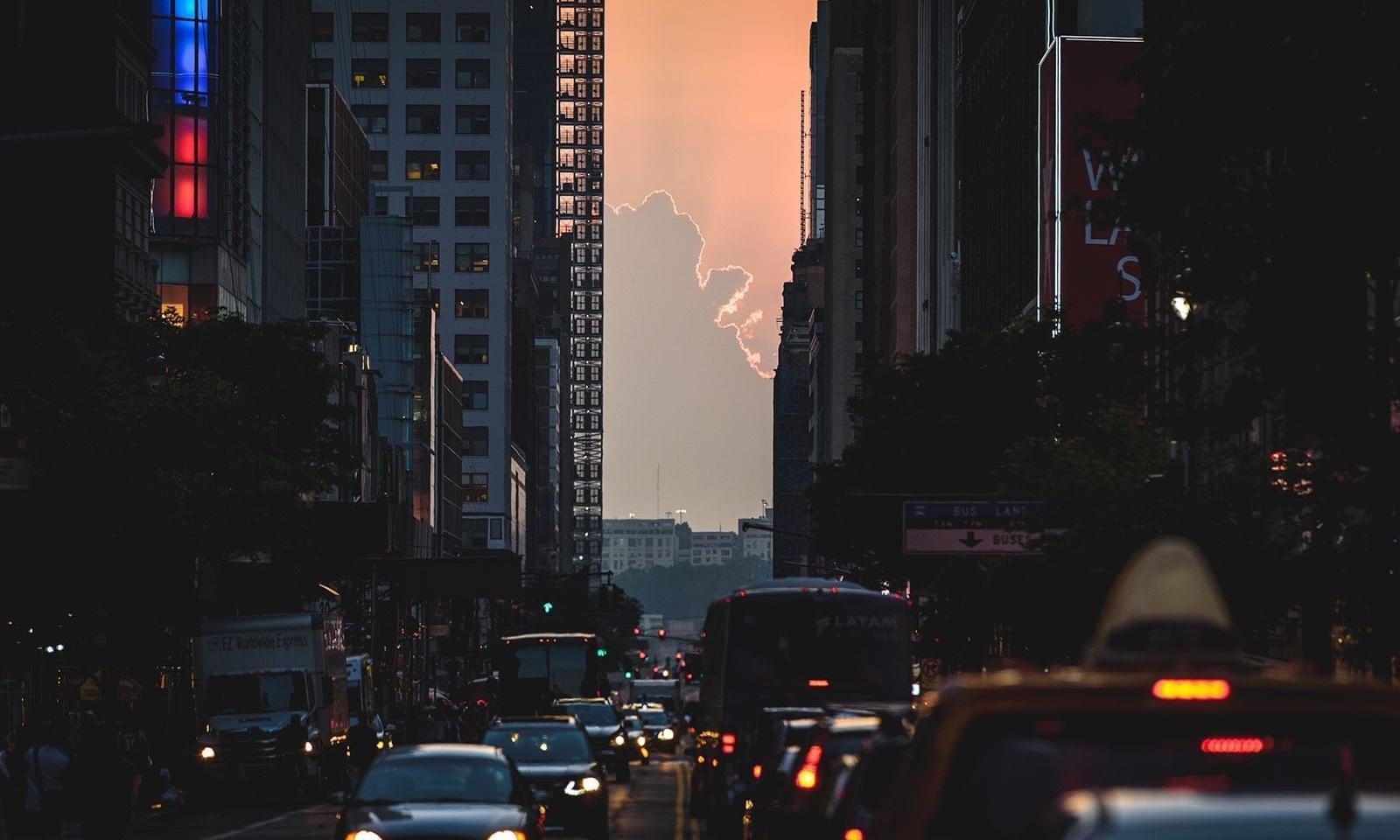 Enviar para seu plano de viagem no MyNY Página Inicial › Eventos ›  Manhattanhenge em Nova York ed142e118c960