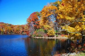 outubro em nova york bear mountain