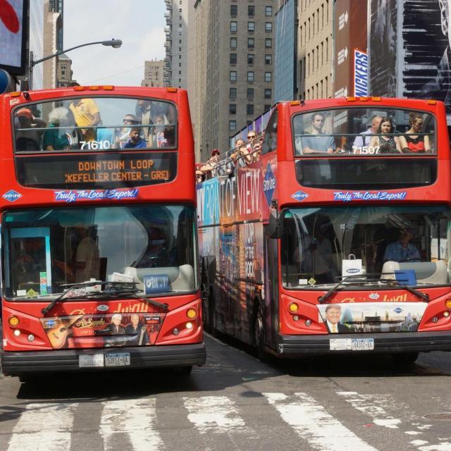 Hop on Hop off NYC – Ônibus turístico