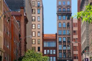 Gebäude in Greenwich Village, New York City