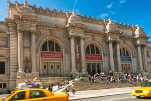 NEW YORK CITY - MARCH 24: Metropolitan Museum of Art in New York City on March 24, 2012. The Met is a NYC landmark which and is the largest art museum in the United States.