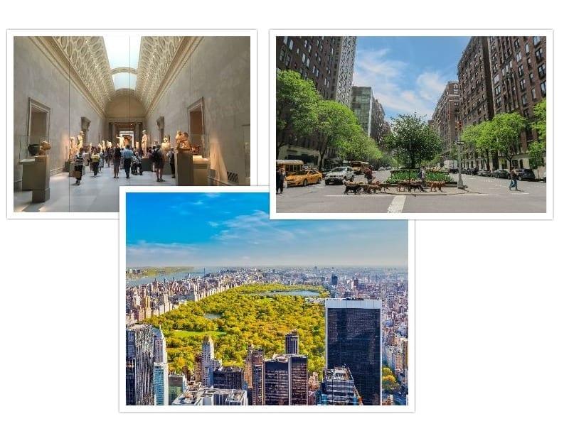 roteiro de 7 dias em Nova York Upper East Side