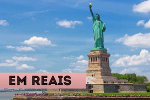 atrações em nova york em reais estátua da liberdade