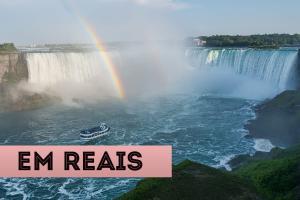 Atrações em Nova York em reais Cataratas do Niagara
