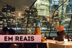 Atrações em Nova York em reais Bateaux New York