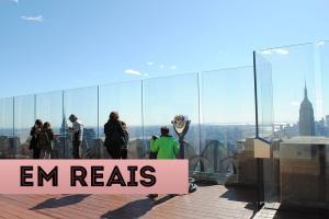 atrações em Nova York em reais