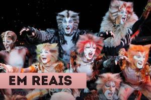 Atrações em Nova York em reais Cats Musical da Broadway