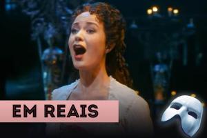 Atrações em Nova York em reais Fantasma da Ópera