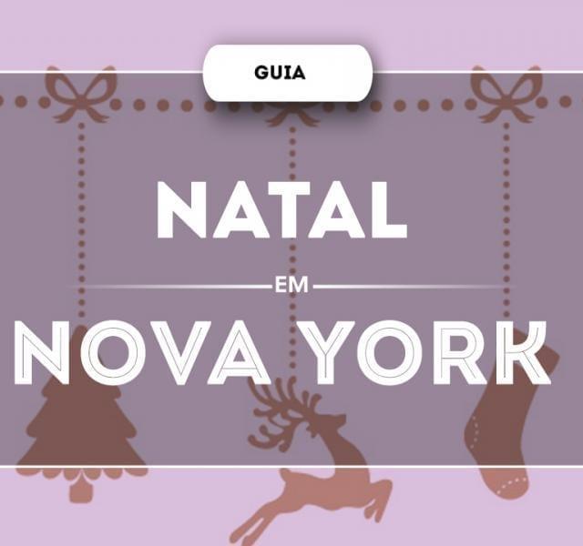 Guia de Natal em Nova York