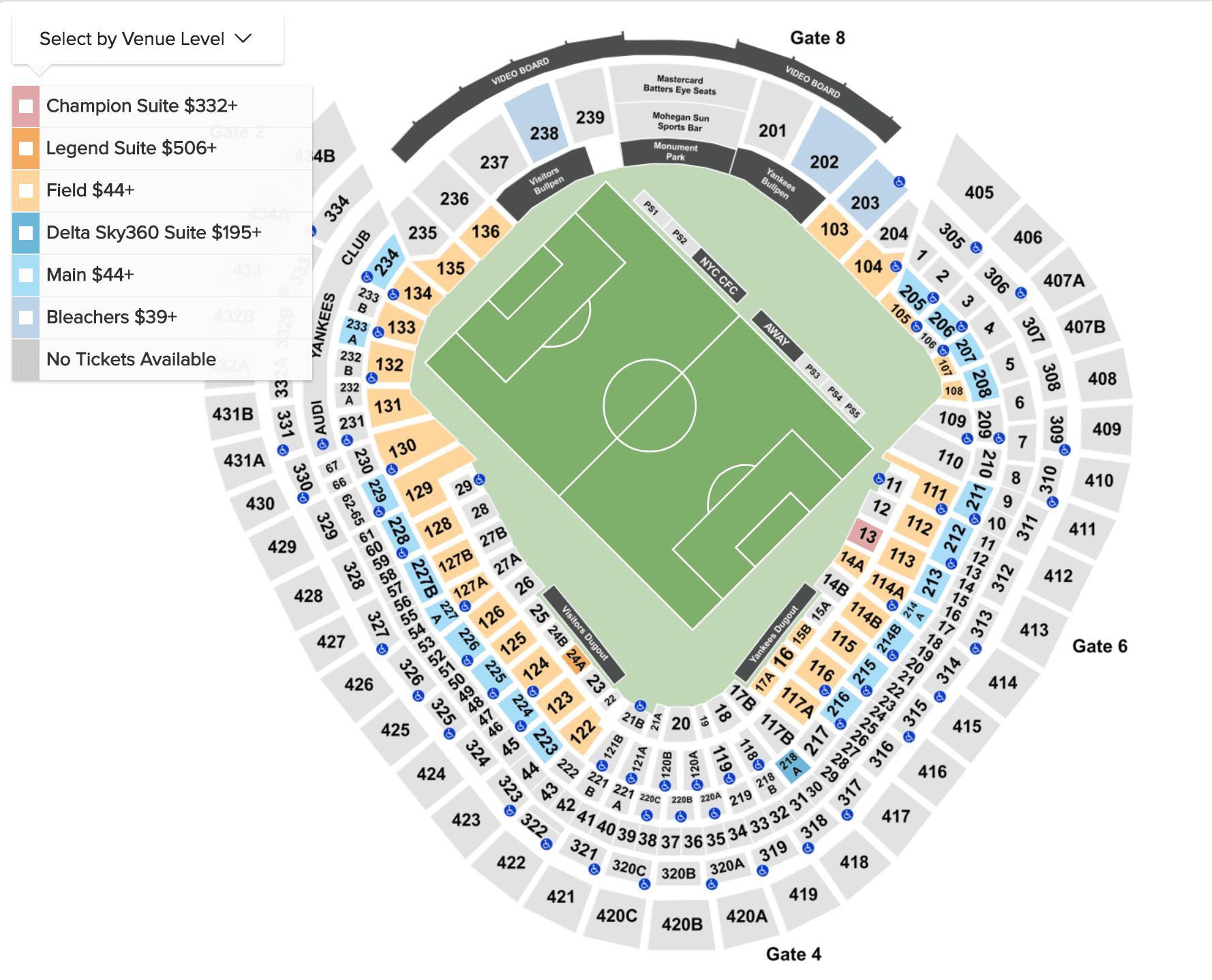 ▷ New York City FC - Futebol em Nova York - 2019 - Ingressos   Jogos f136f03f458