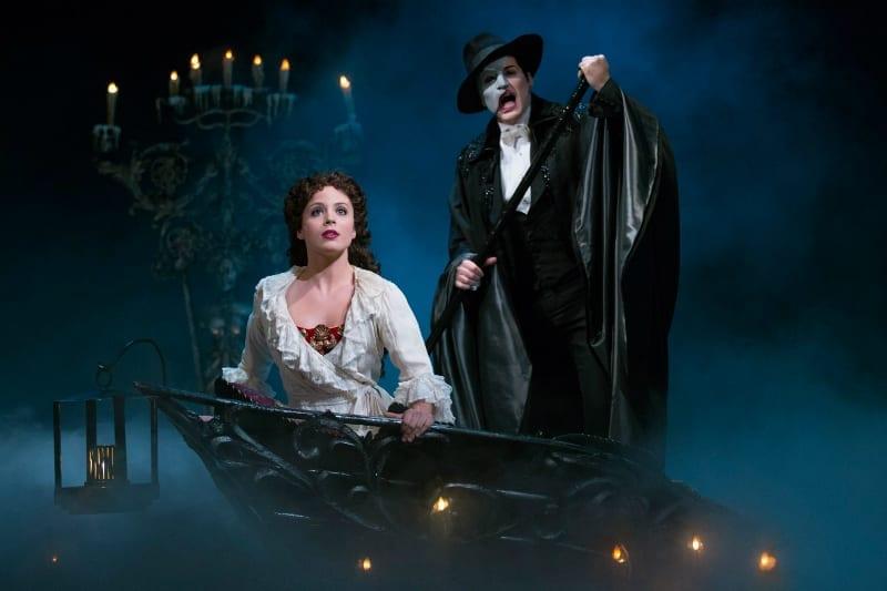 O Fantasma da Ópera na Broadway Musical