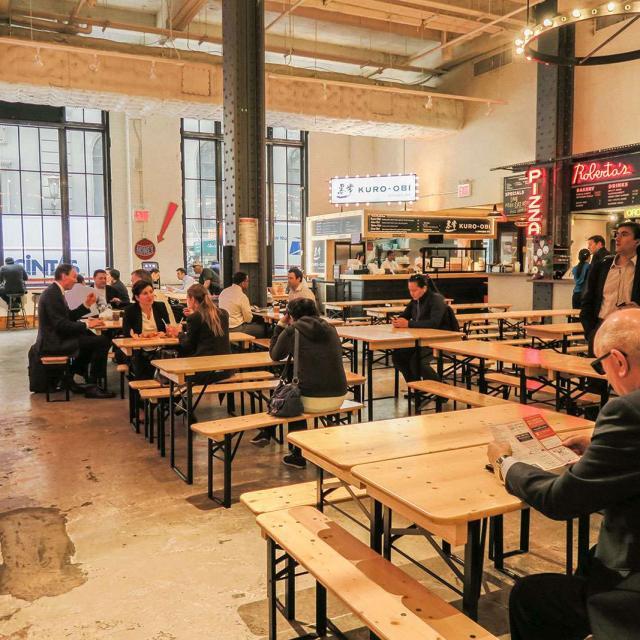 Urbanspace Foodmarket em Midtown