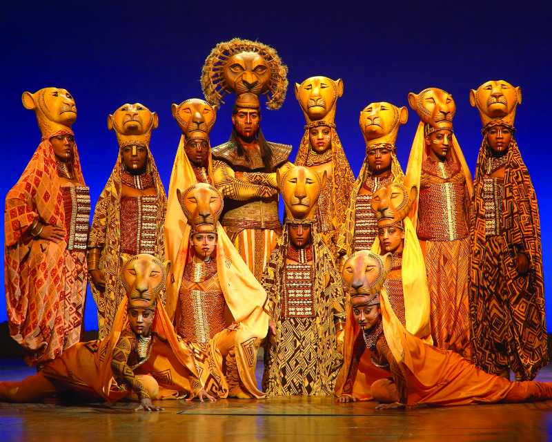 O rei Leão Broadway musical