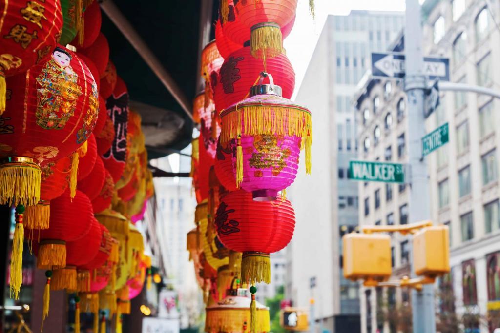 pontos turísticos de Nova York Chinatown