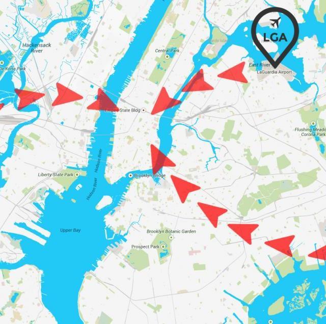 Como chegar em Nova York  ?
