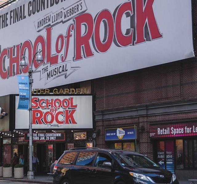 School of Rock Broadway