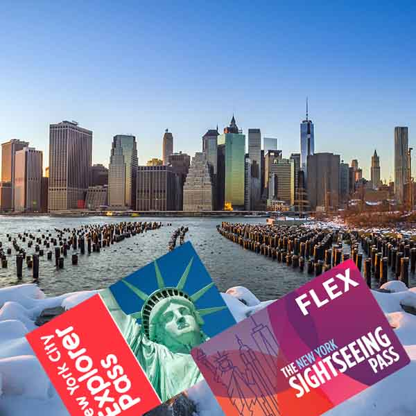 New York Explorer Pass e New York Sightseeing Pass FLEX
