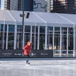 Pista de patinação no gelo em Nova York