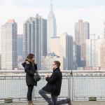 Pedidos de casamento em Nova York