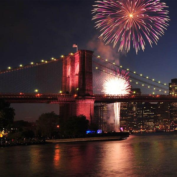 4 de julho em Nova York