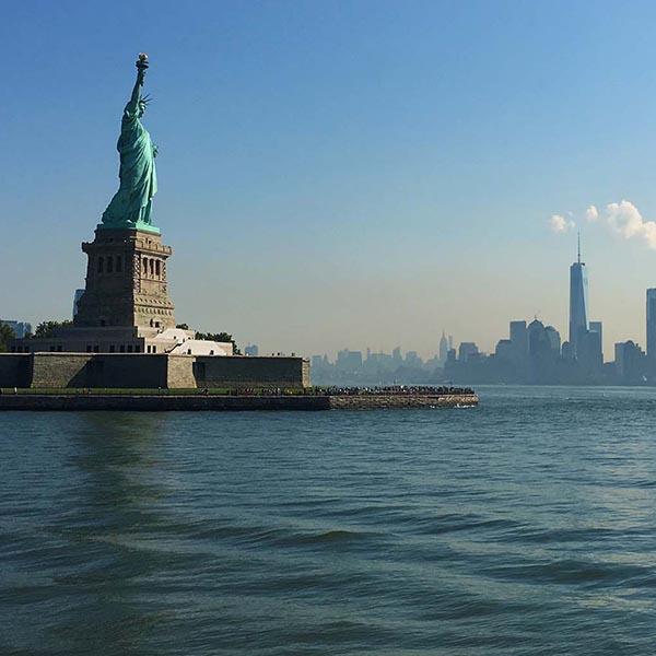 Passeio para Estátua da Liberdade de barco