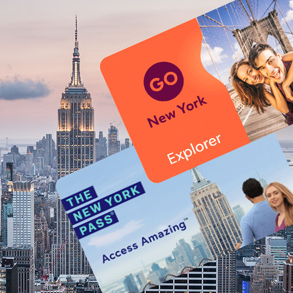 GO New York Explorer Pass e New York Sightseeing Pass FLEX